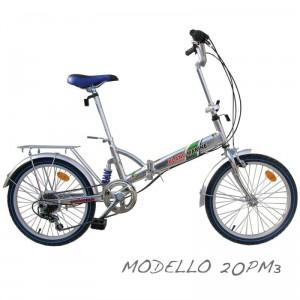 Bici Pieghevole In Alluminio.Bici Pieghevole Alluminio Blanc Marine 20 Pm3