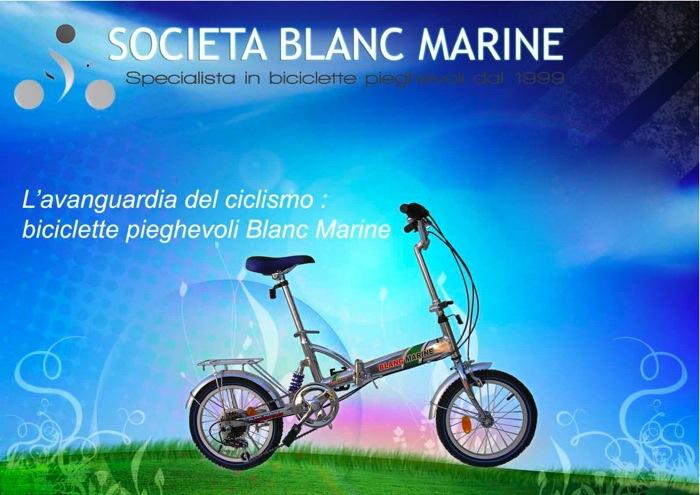 Bici pieghevole Blanc Marine 1